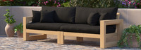 Benson™ 96in Sofa - Bliss Blue