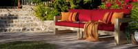 Benson™ 96in Sofa - Tikka Orange