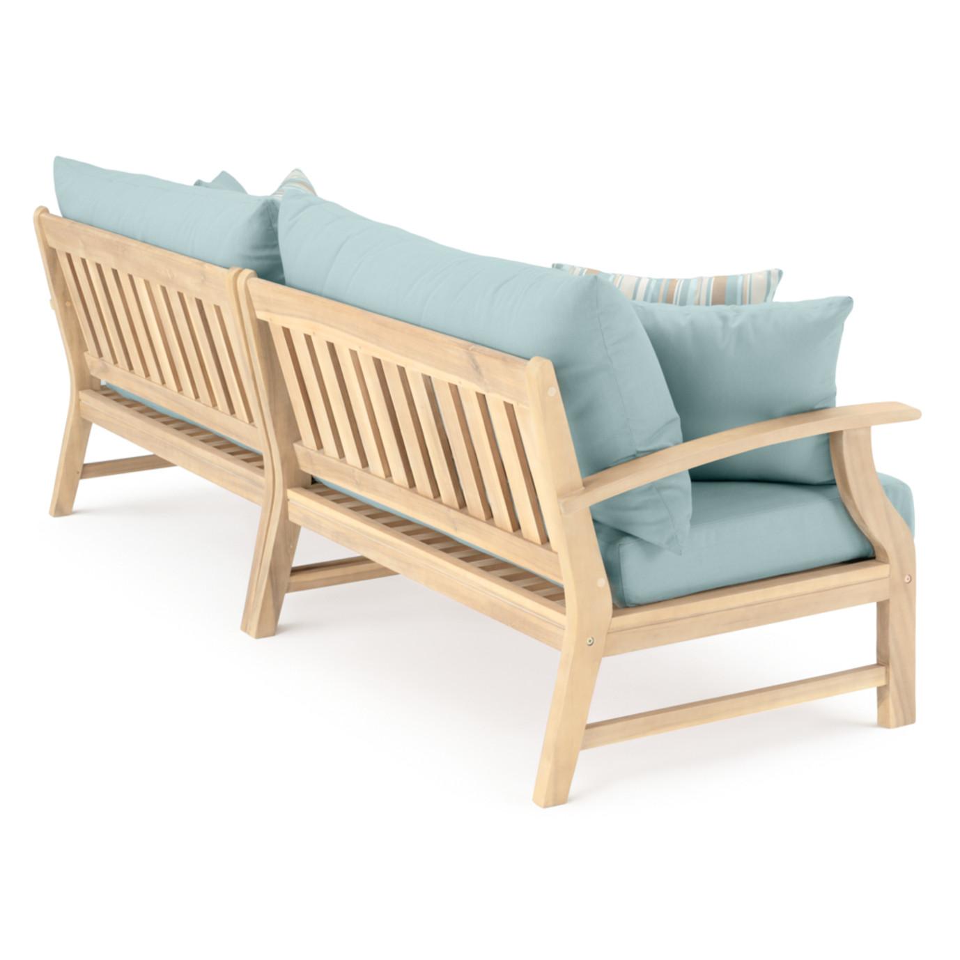 Kooper 96in Sofa - Bliss Blue