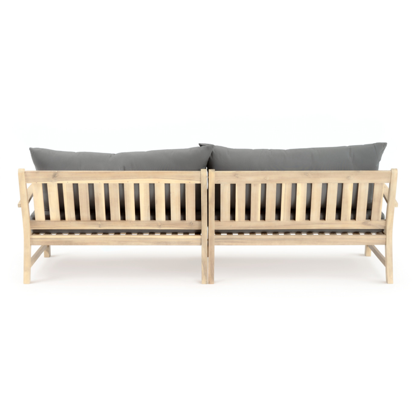 Kooper 96in Sofa - Charcoal Gray