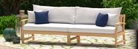 Kooper™ 96in Sofa - Cast Coral