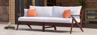 Vaughn™ 96in Sofa - Charcoal Gray