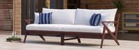 Vaughn™ 96in Sofa - Navy Blue