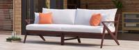 Vaughn™ 96in Sofa - Tikka Orange