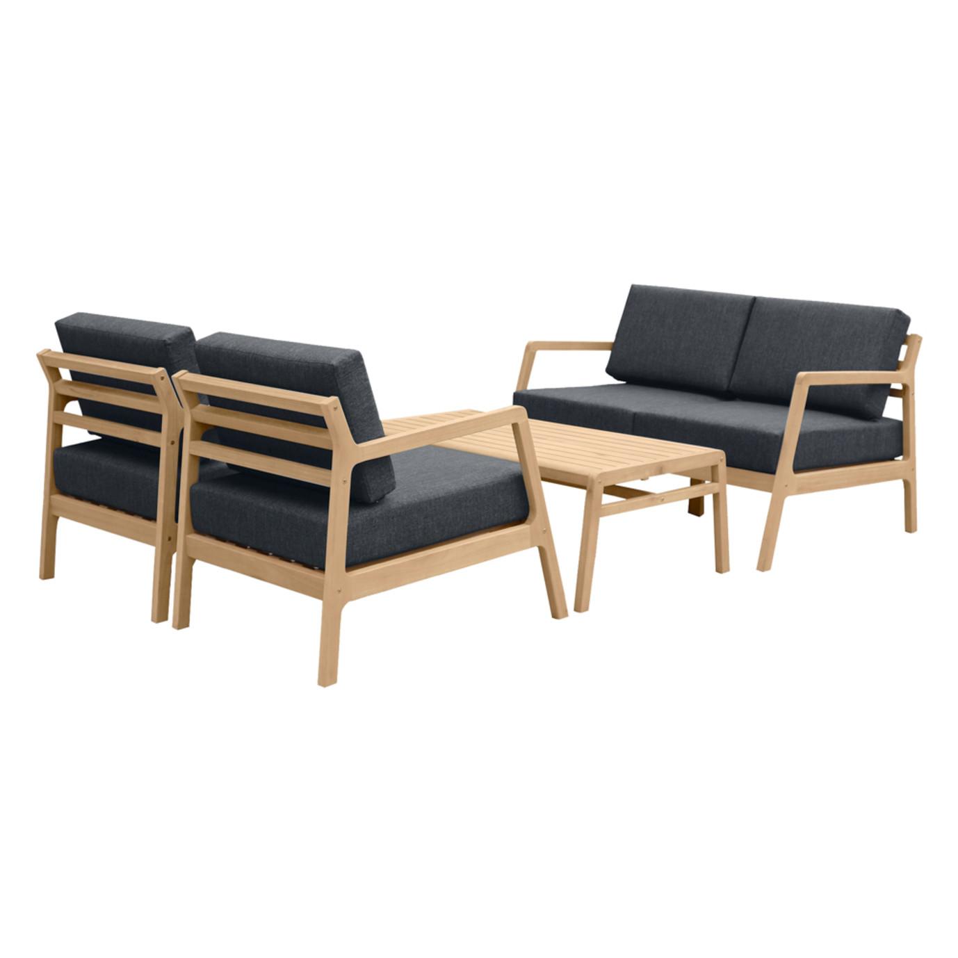 Asta 4pc Seating Set - Black
