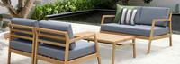 Asta 4pc Seating Set - Gray