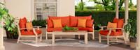 Kooper™ 4 Piece Outdoor Sofa & Club Chair Set - Bliss Blue