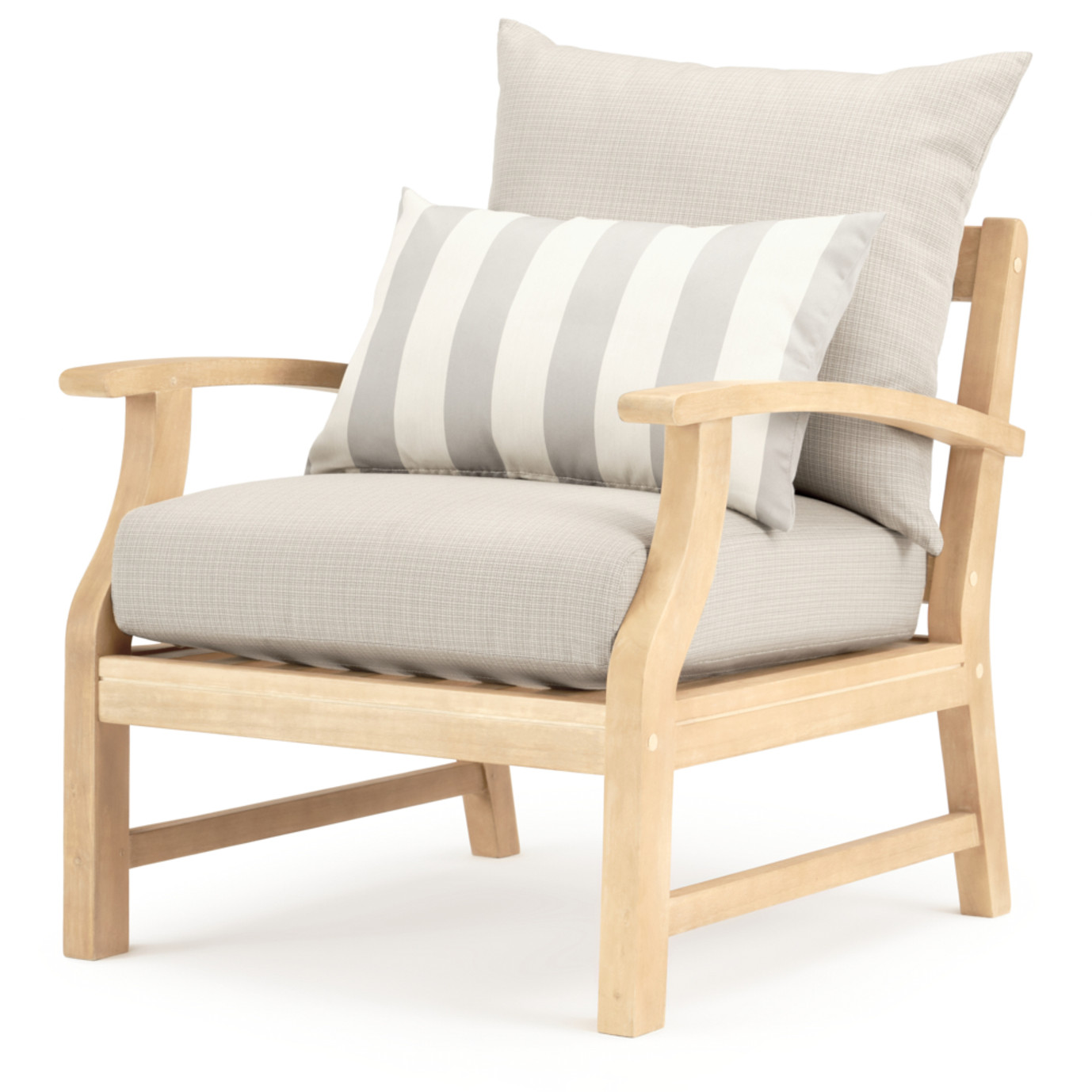 Kooper 4pc Outdoor Sofa & Club Chair Set - Slate Gray