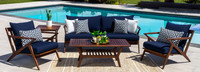 Vaughn™ 5 Piece Seating Set - Bliss Blue