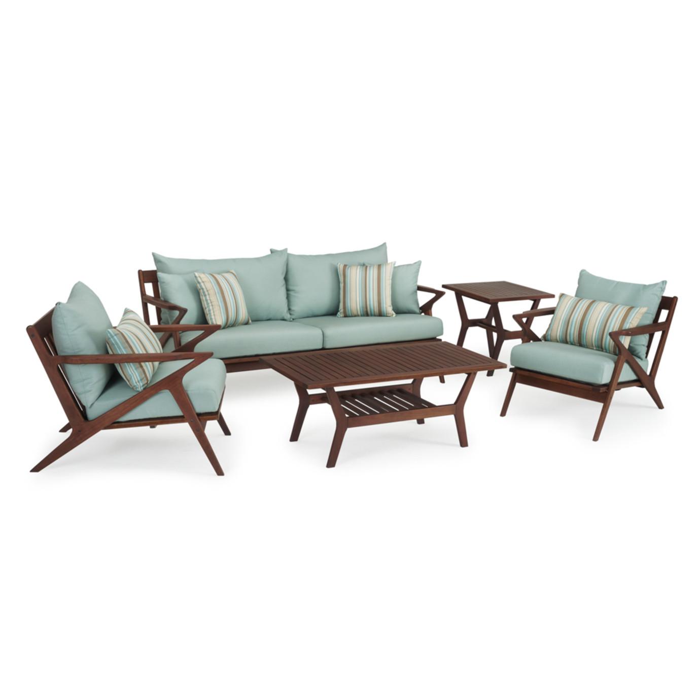 Vaughn 5pc Seating Set - Bliss Blue