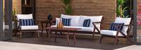 Vaughn™ 5 Piece Seating Set - Charcoal Gray