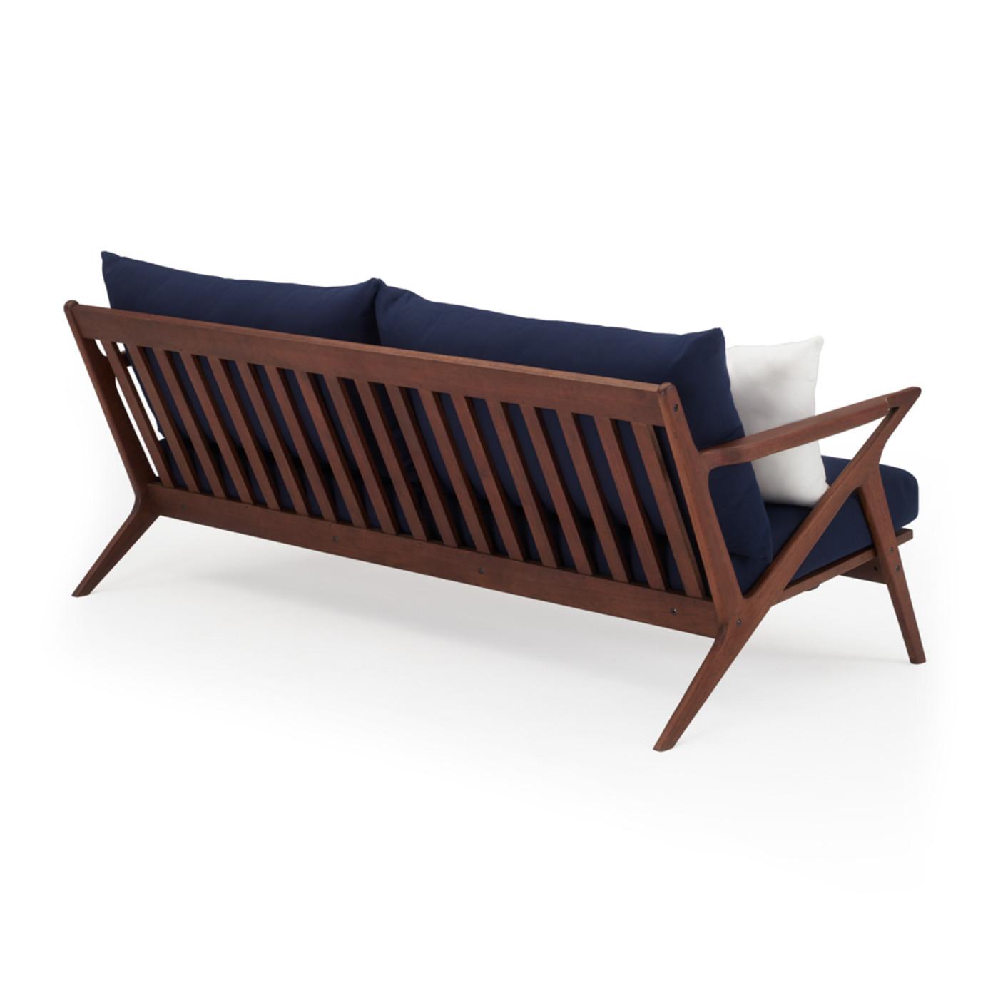 Vaughn 5 Piece Seating Set - Navy Blue