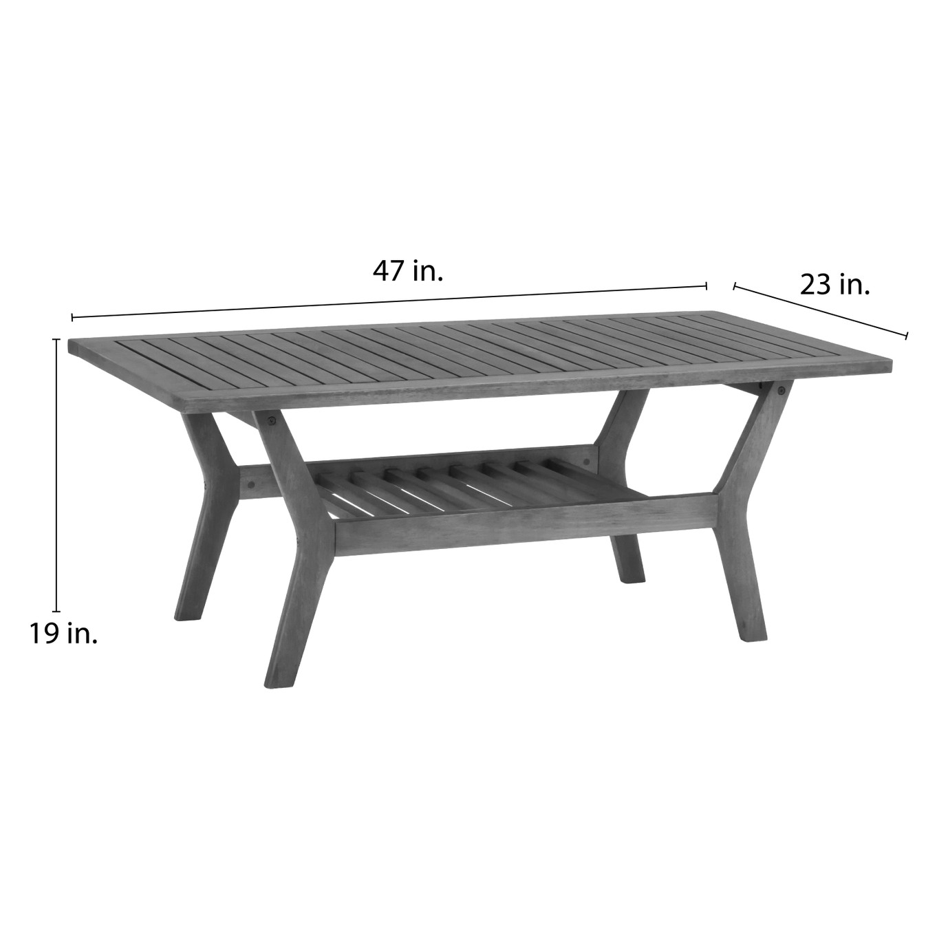 Vaughn 5 Piece Seating Set - Slate Gray