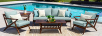 Vaughn™ 5 Piece Seating Set - Spa Blue