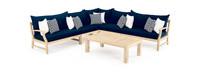 Kooper™ 6 Piece Sectional - Navy Blue