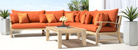 Kooper™ 6 Piece Sectional - Sunset Red
