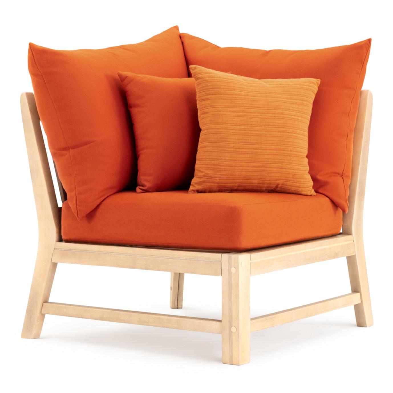 Kooper 6pc Sectional - Tikka Orange