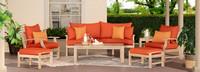 Kooper™ 7 Piece Outdoor Sofa & Club Chair Set - Charcoal Gray
