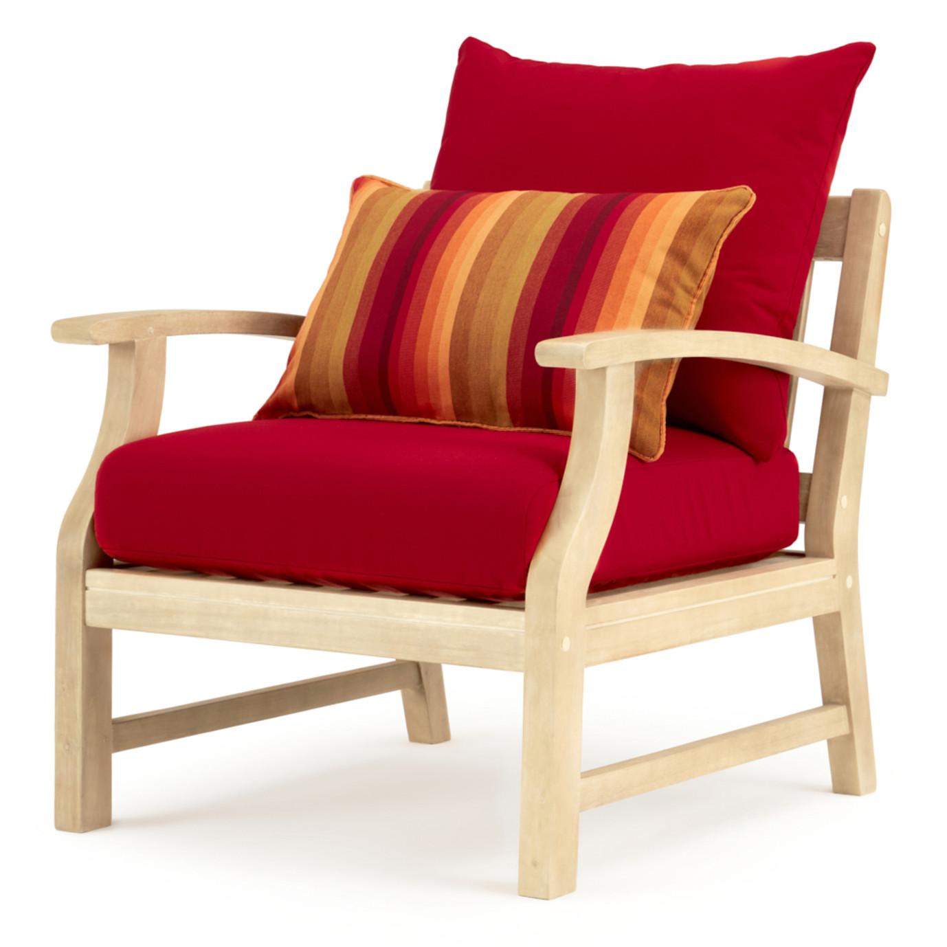 Kooper™ 7 Piece Outdoor Sofa & Club Chair Set - Sunset Red