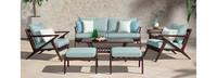 Vaughn™ 7 Piece Sofa & Club Chair Set - Spa Blue