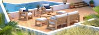 Benson™ 8 Piece Sofa & Club Chair Set - Centered Ink