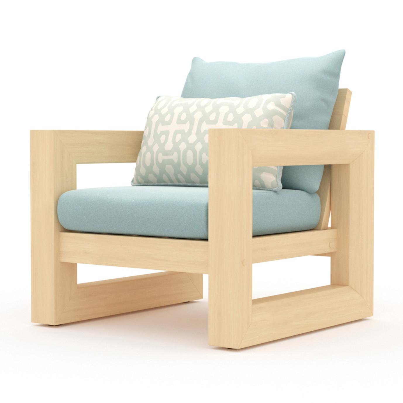 Benson 8pc Sofa & Club Chair Set - Spa Blue