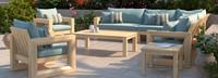 Benson™ 9 Piece Seating Set - Bliss Blue