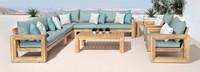 Benson™ 9 Piece Seating Set - Charcoal Gray