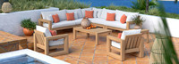 Benson™ 9 Piece Seating Set - Cast Coral