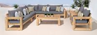 Benson™ 9 Piece Seating Set - Spa Blue
