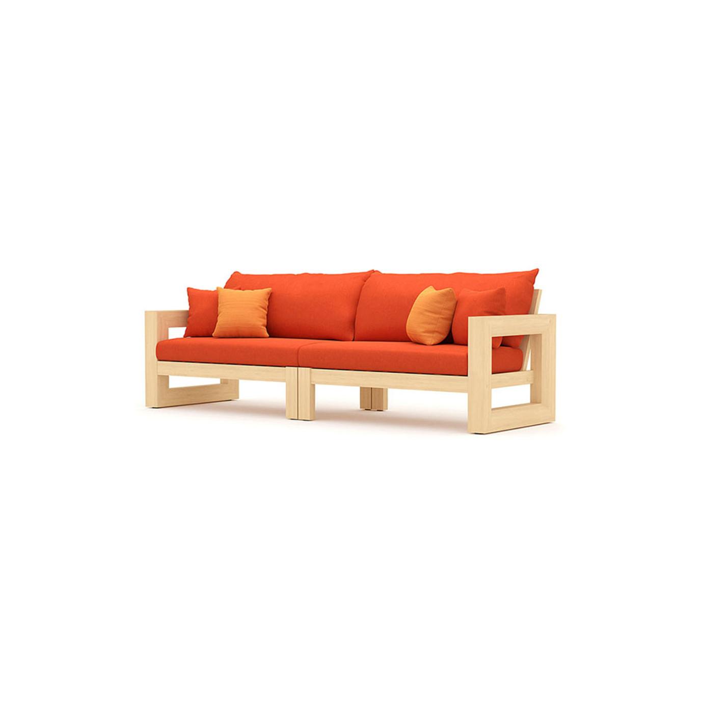 Benson 9pc Seating Set - Tikka Orange