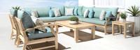 Kooper™ 9 Piece Seating Set - Bliss Blue