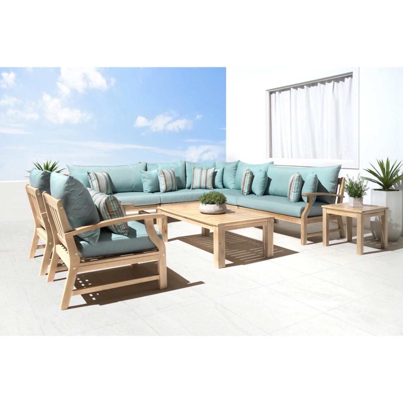 Kooper 9pc Seating Set - Bliss Blue