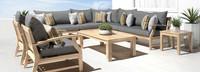 Kooper™ 9 Piece Seating Set - Charcoal Gray
