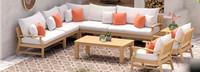 Kooper™ 9 Piece Seating Set - Cast Coral