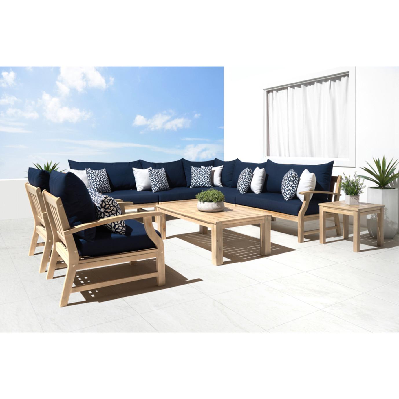 Kooper 9pc Seating Set - Navy Blue