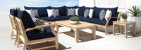 Kooper™ 9 Piece Seating Set - Spa Blue