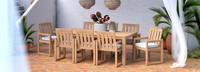 Benson™ 9 Piece Dining Set - Bliss Linen