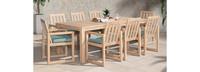 Benson™ 9 Piece Dining Set - Spa Blue