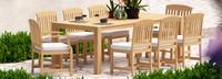 Kooper™ 9 Piece Outdoor Dining Set - Bliss Linen