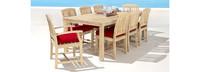 Kooper™ 9 Piece Outdoor Dining Set - Spa Blue
