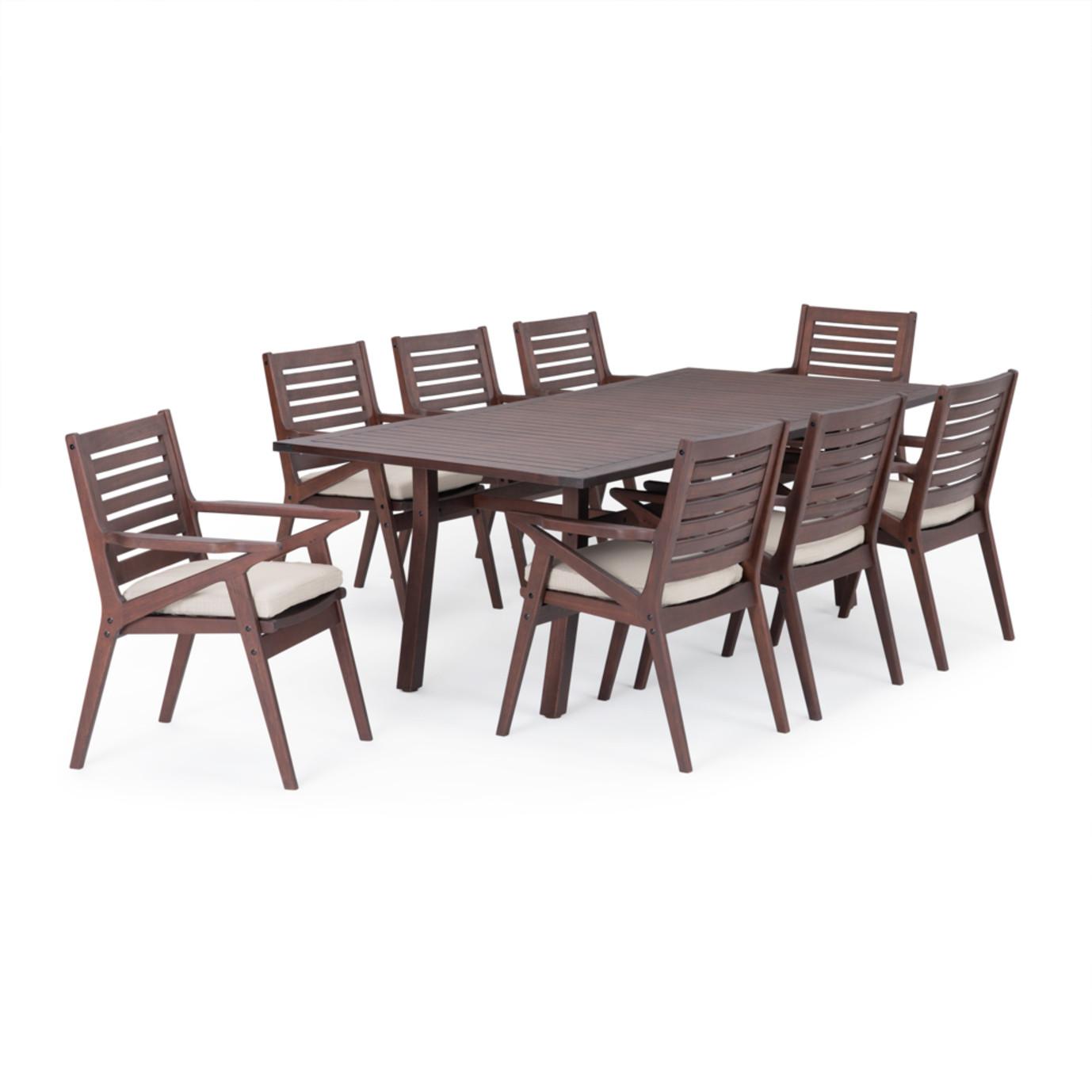 Vaughn™ 9 Piece Dining Set - Slate Gray