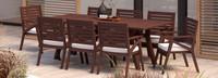 Vaughn™ 9 Piece Dining Set - Tikka Orange
