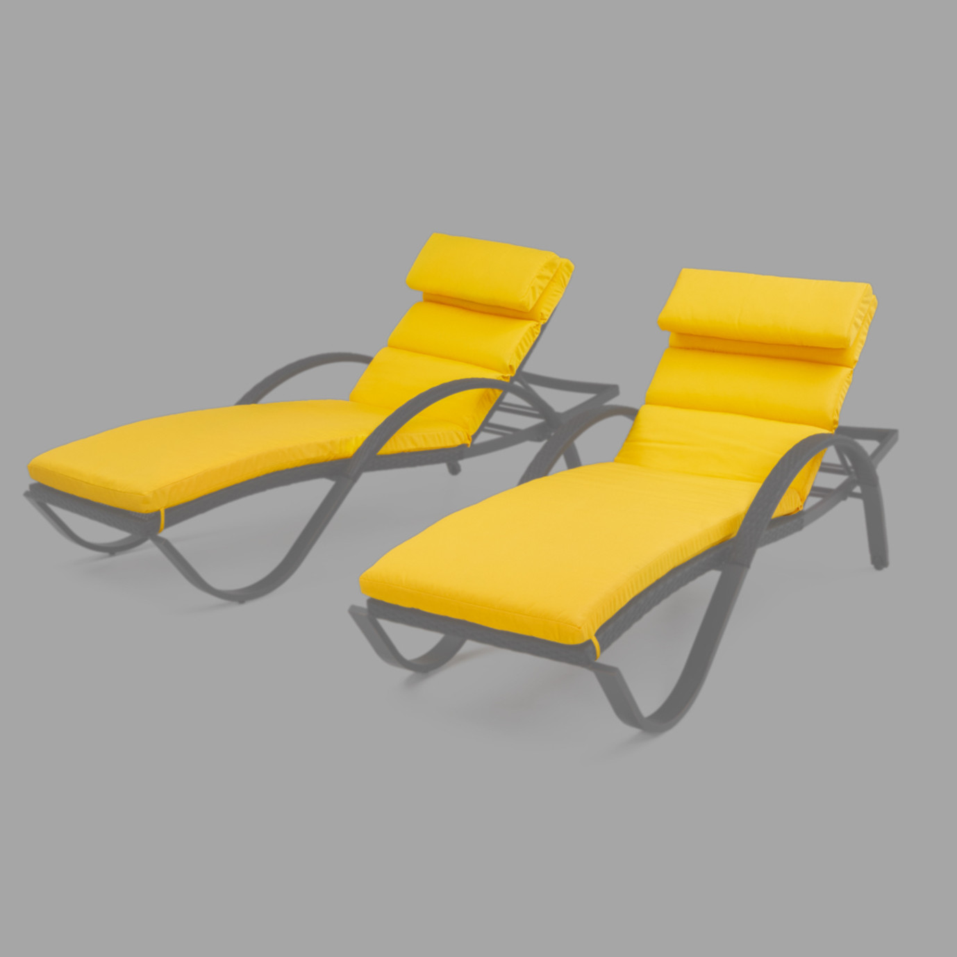 Modular Outdoor Chaise Lounge Cushions
