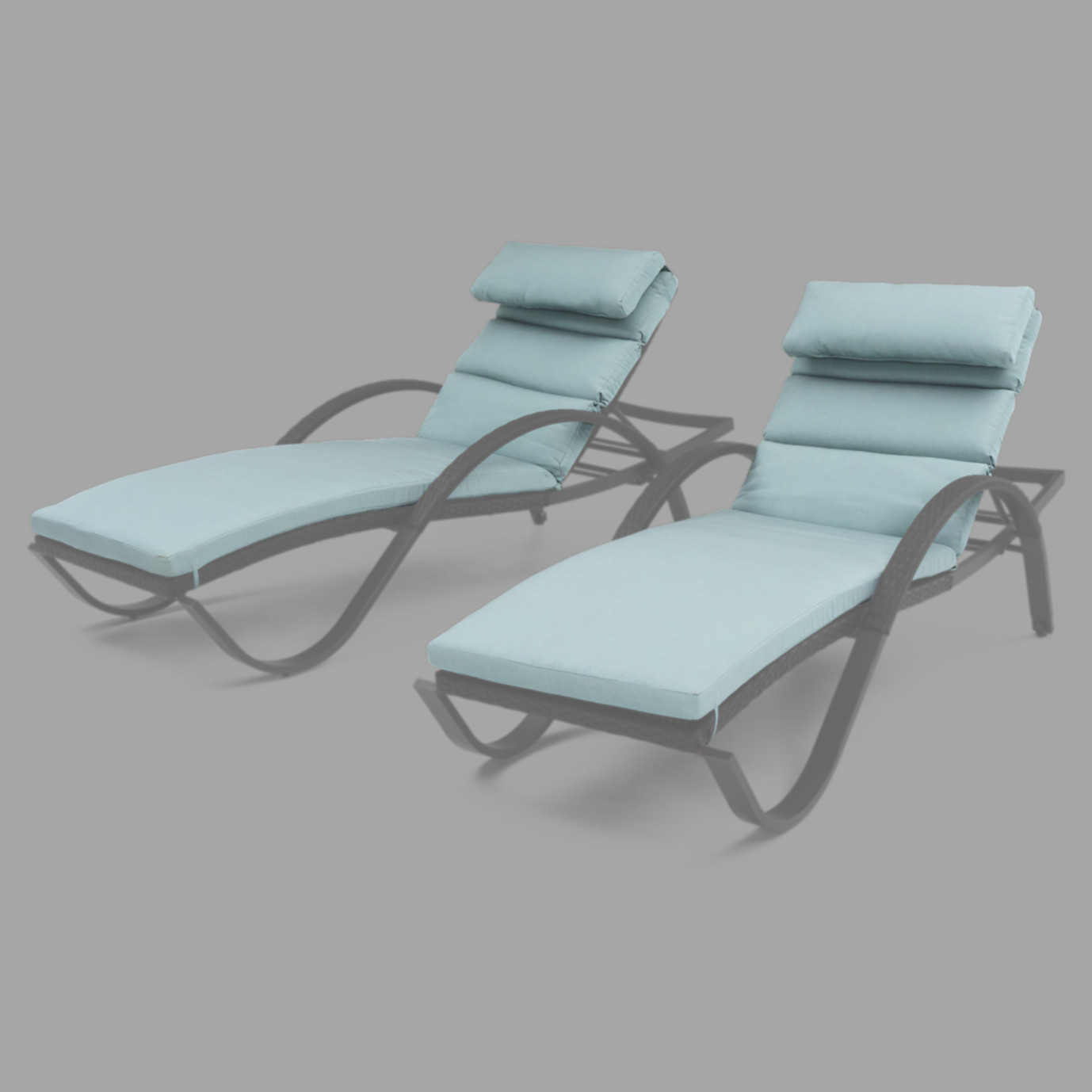 Outdoor chaise lounges cushions rst brands for 23 w outdoor cushion for chaise