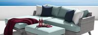 Portofino® Casual 3pc Chaise Small Back Cushion - Spa Blue