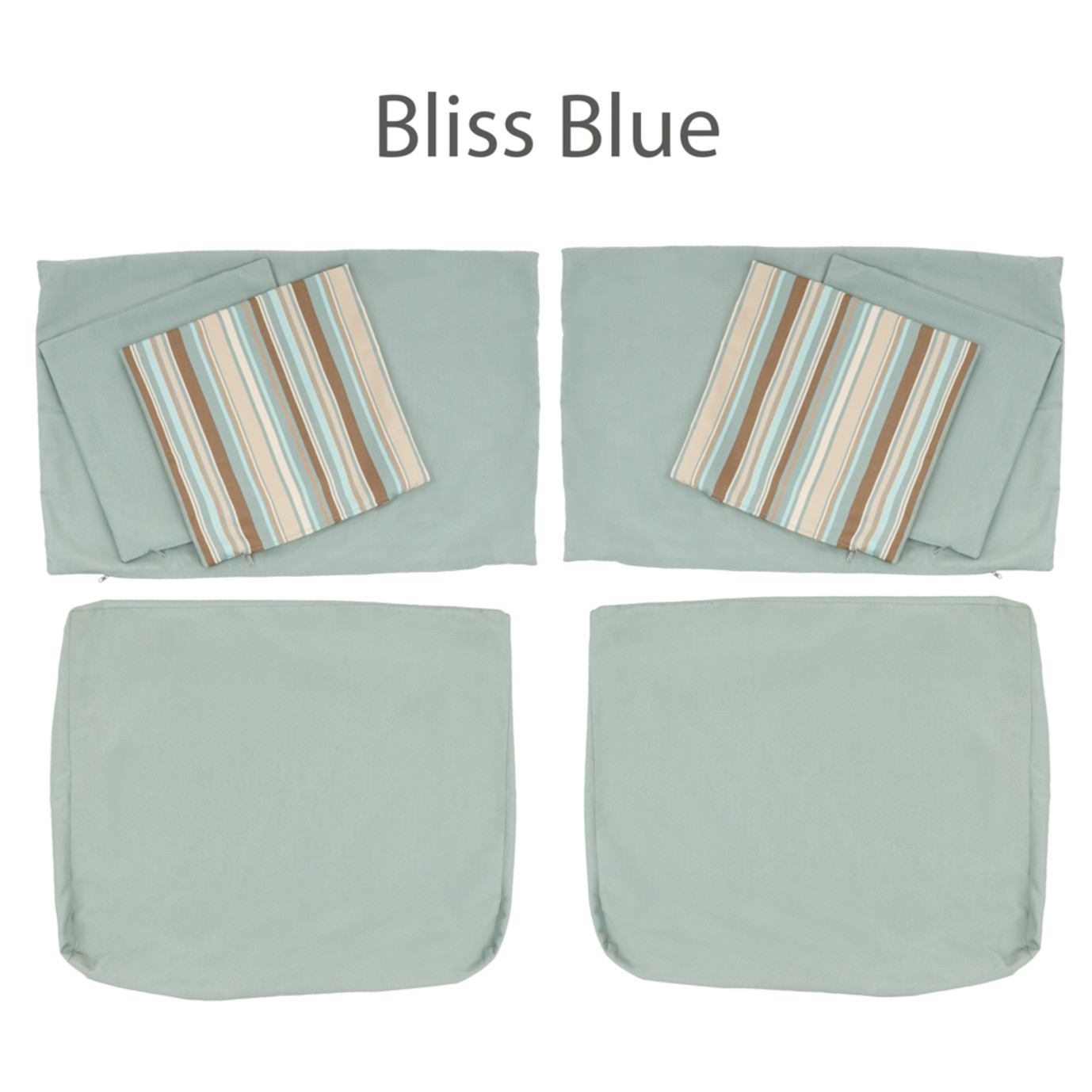 Cushion Covers For Armless Chairs Rst Brands