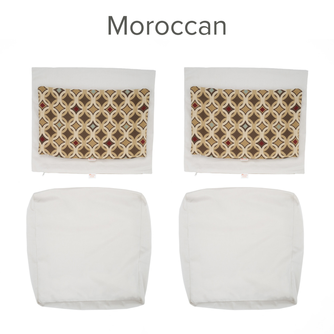 Modular Club Chair Cushion Covers