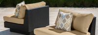 Portofino® Comfort Armless Chair Base Cushion - Heather Beige