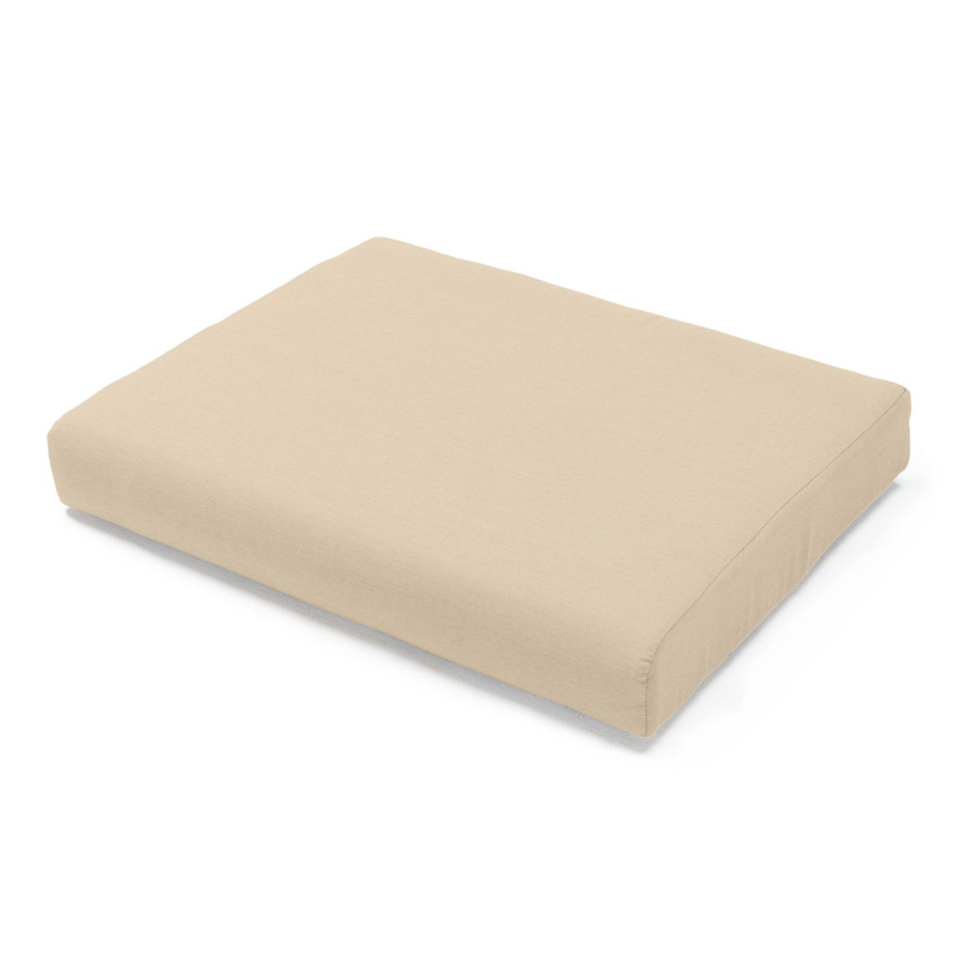 Portofino Comfort Armless Chair Base Cushion - Heather Beige